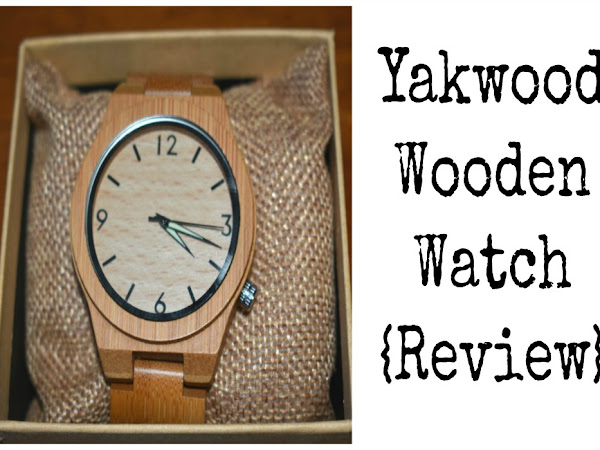 Yakwood Wooden Watch {Review}