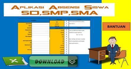 Unduh Aplikasi Absensi Siswa SD,SMP,SMA Terbaru Dan Otomatis