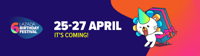 Lazada Birthday Festival Blogger Contest, Birthday Festival Sale, Lazada Malaysia, Anniversary Lazada Yang Ke - 6, Blogger Contest By Lazada, April, 2018,