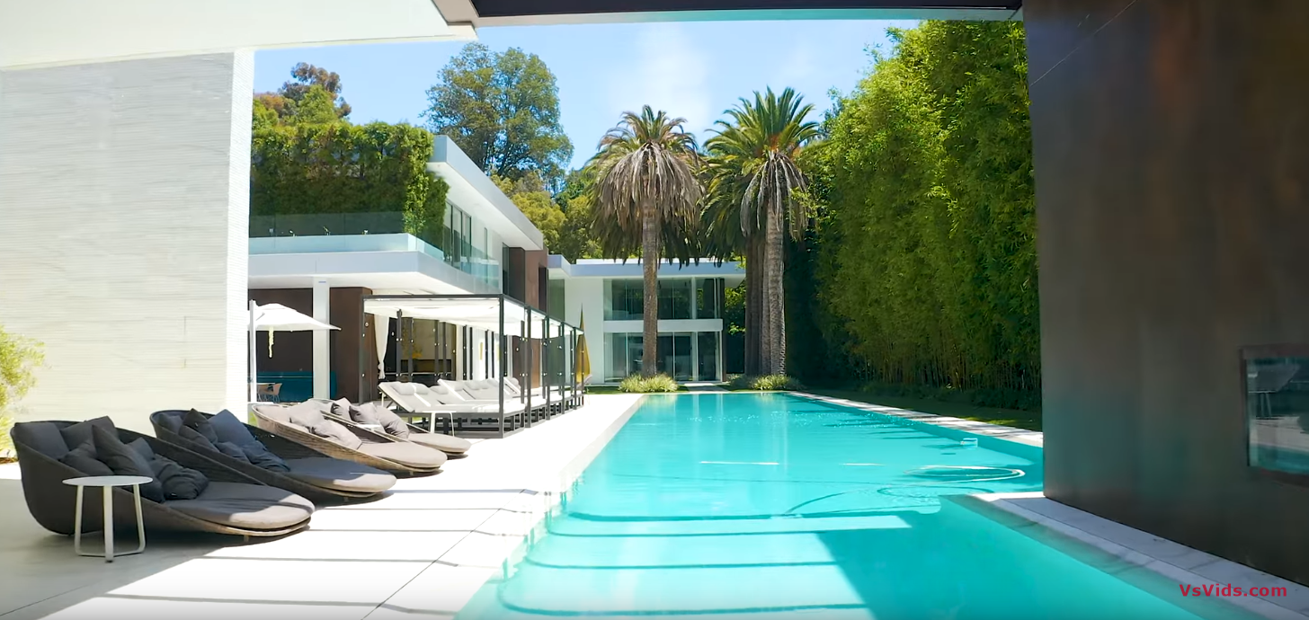43 Photos vs. $65 MILLION BEL AIR MEGA MANSION WITH A BEAUTY SALON AND SPA! - Luxury Home & Interior Design Tour