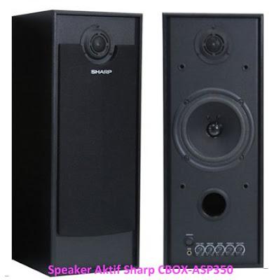 Harga Speaker Aktif Sharp CBOX-ASP350