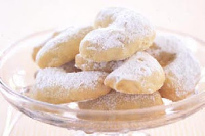 Greek almond biscuits desserts recipes