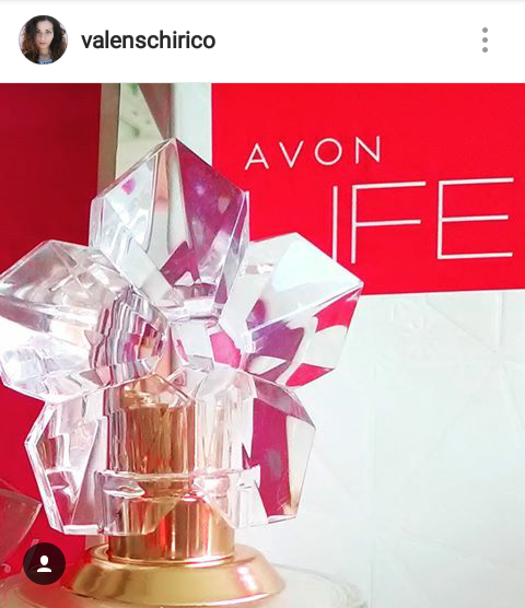 AVON LIFE by Kenzo Takada, eau de parfum for her.. Sneak peek from Valentina Chirico's Instagram account