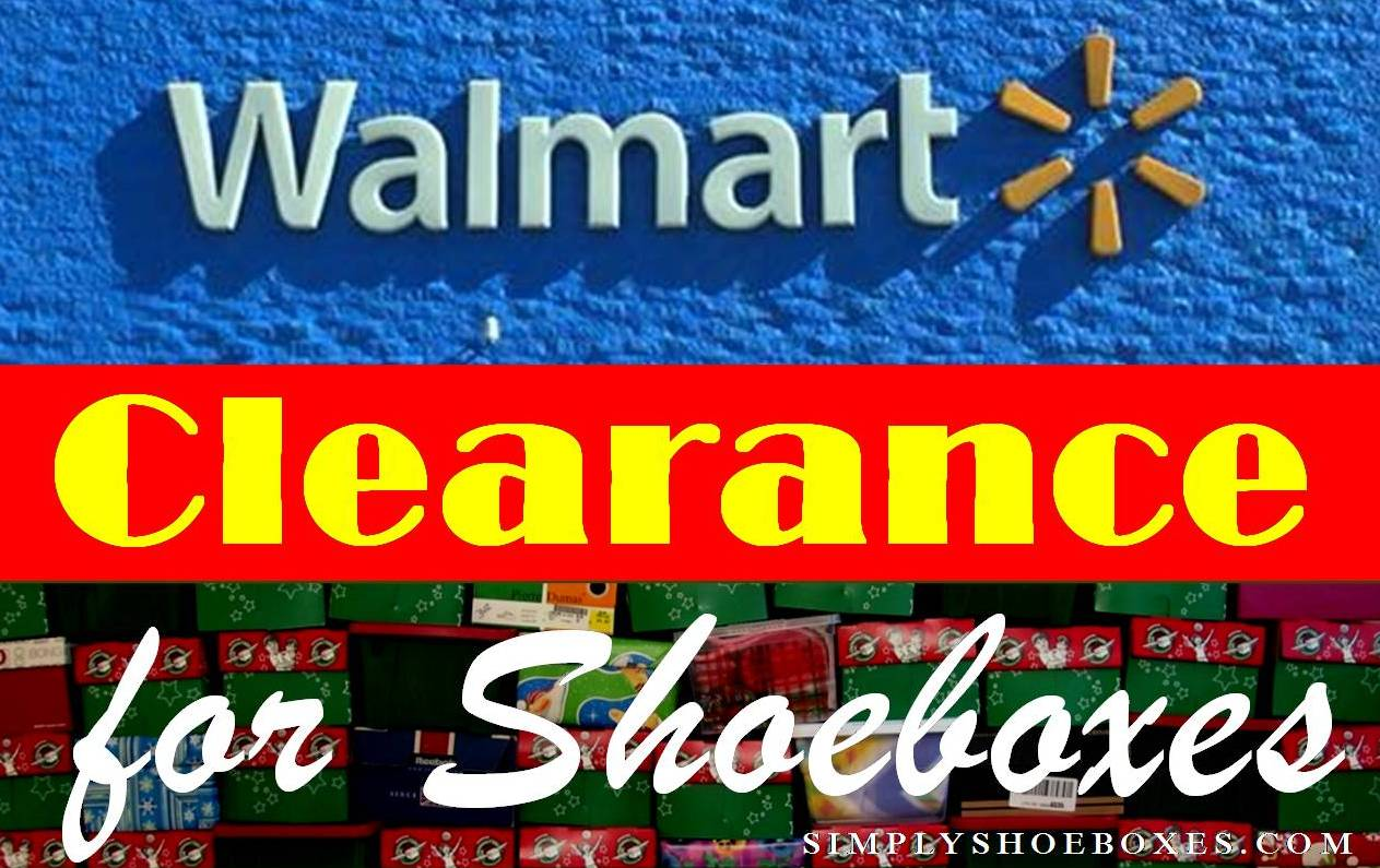 dd834c9ab8c Simply Shoeboxes  WalMart Clearance Brickseek for OCC Shoeboxes 2018