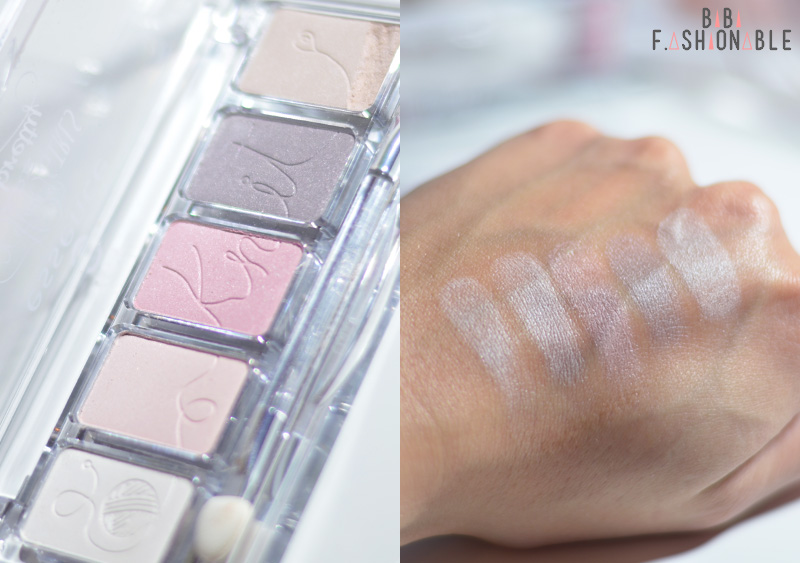essence happy girls are pretty eyeshadow palette Detail Swatches