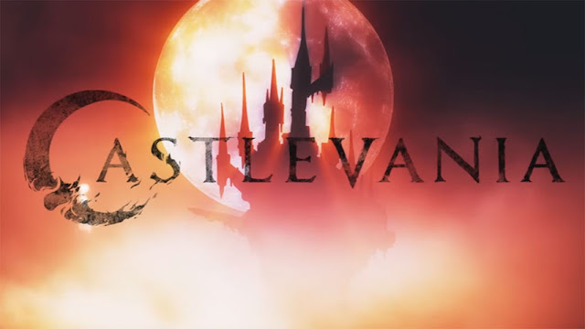 Binge On Netflix: Castlevania | Review without Spoilers Dracula Lisa Treveor Belmont Alucard