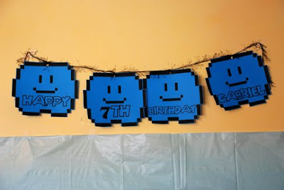 super mario bros cloud birthday banner