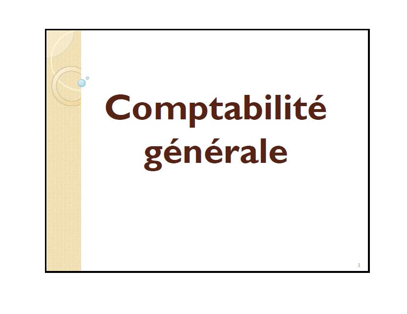cours comptabilit u00e9 g u00e9n u00e9rale s1 pdf cours fsjes