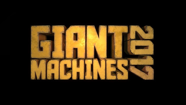Giant Machines 2017 title screen