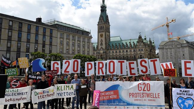 Germany's Hamburg braces for protests ahead of G20 summit