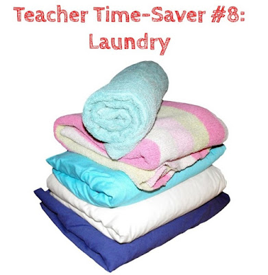 Teacher Time Savers at Home: Do a Load of Laundry Each Night