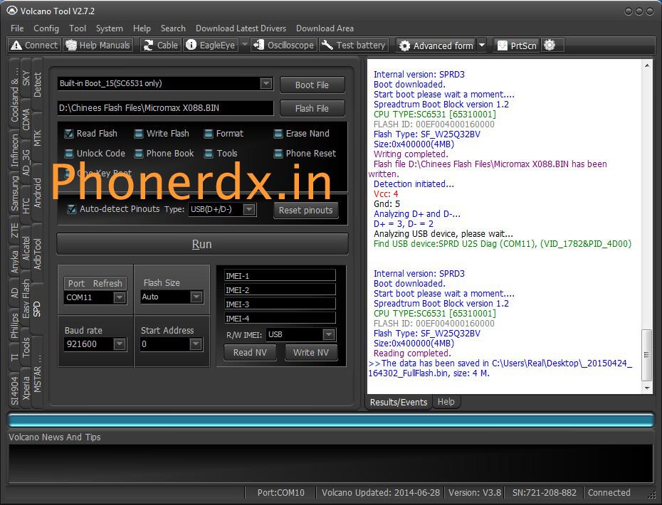 micromax x088 spd 6531 flash file