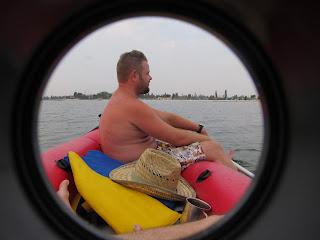путешествие азовским морем на надувном каяке