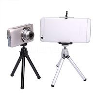 mini Treppiede tripod supporto universale per smartphone video camera dvr e action cam