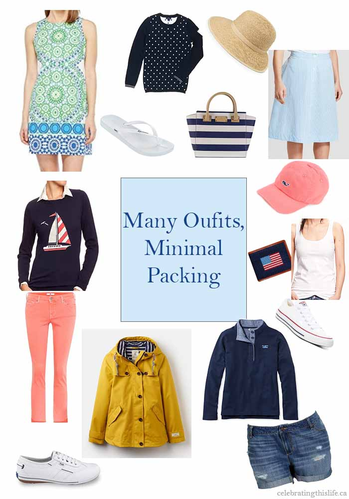 creating travel outfits