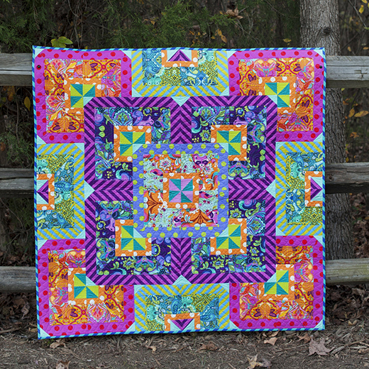 Fusion Quilt Free Pattern