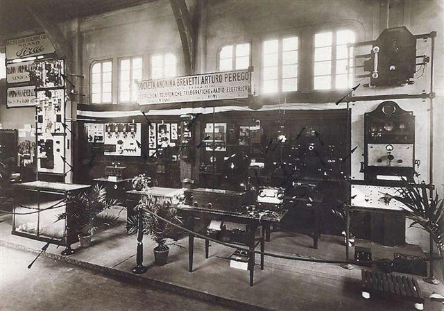 Foto originale d'epoca - Fiera Milano 1923