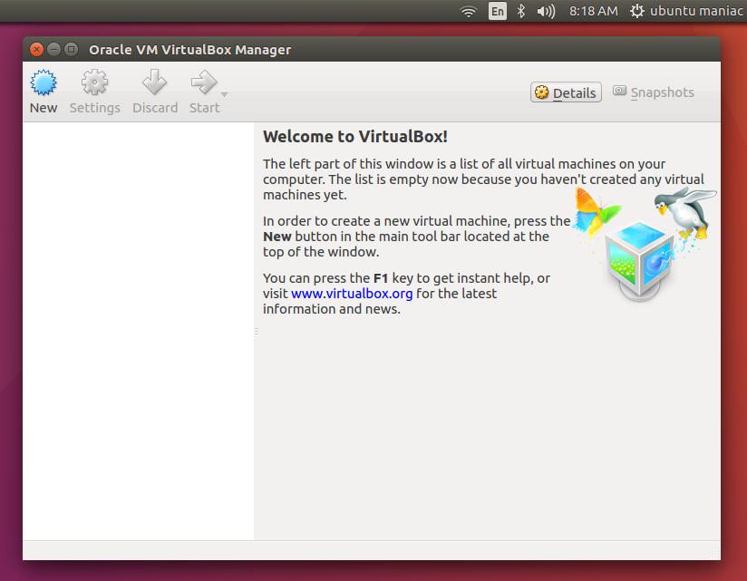 install virtualbox 5 ubuntu 16.04