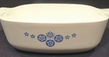 Corningware 411 Known American Oil Star Snowflake Pieces