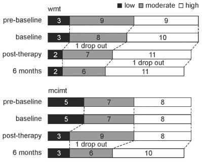 図:WiiとCI療法の比較