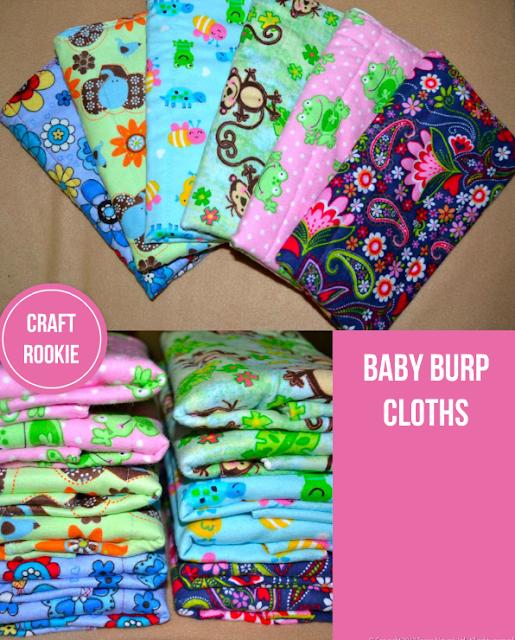 Baby Burp Home Craft Ideas