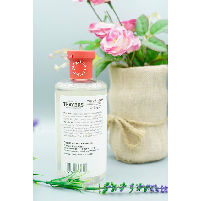 THAYERS WITCH HAZEL ROSE PETAL (REVIEW)