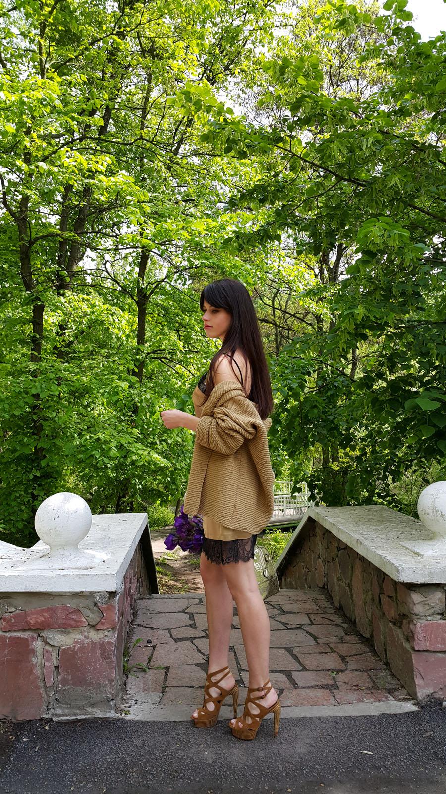 платье, бельевой стиль