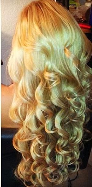 curly hair, wave waves hairstyle long hair curled