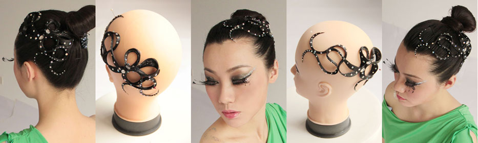 Excellent Design To Girl Ballroom Dancing Hairstyles Short Hairstyles Gunalazisus