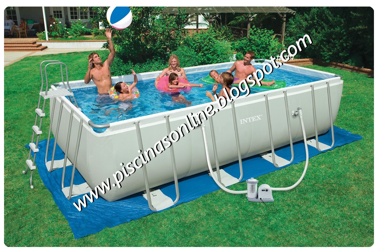Piscina Intex 6000 Litros Medidas Piscinas On Line