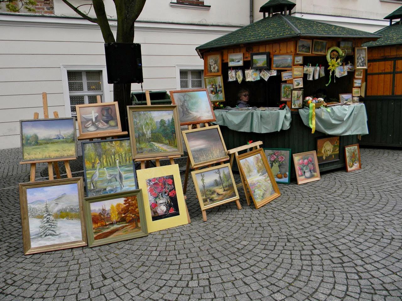 sztuka, jarmark, Zielona Góra, deptak