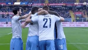 اهداف مباراة لاتسيو وجنوي (3-2) الدوري الايطالي