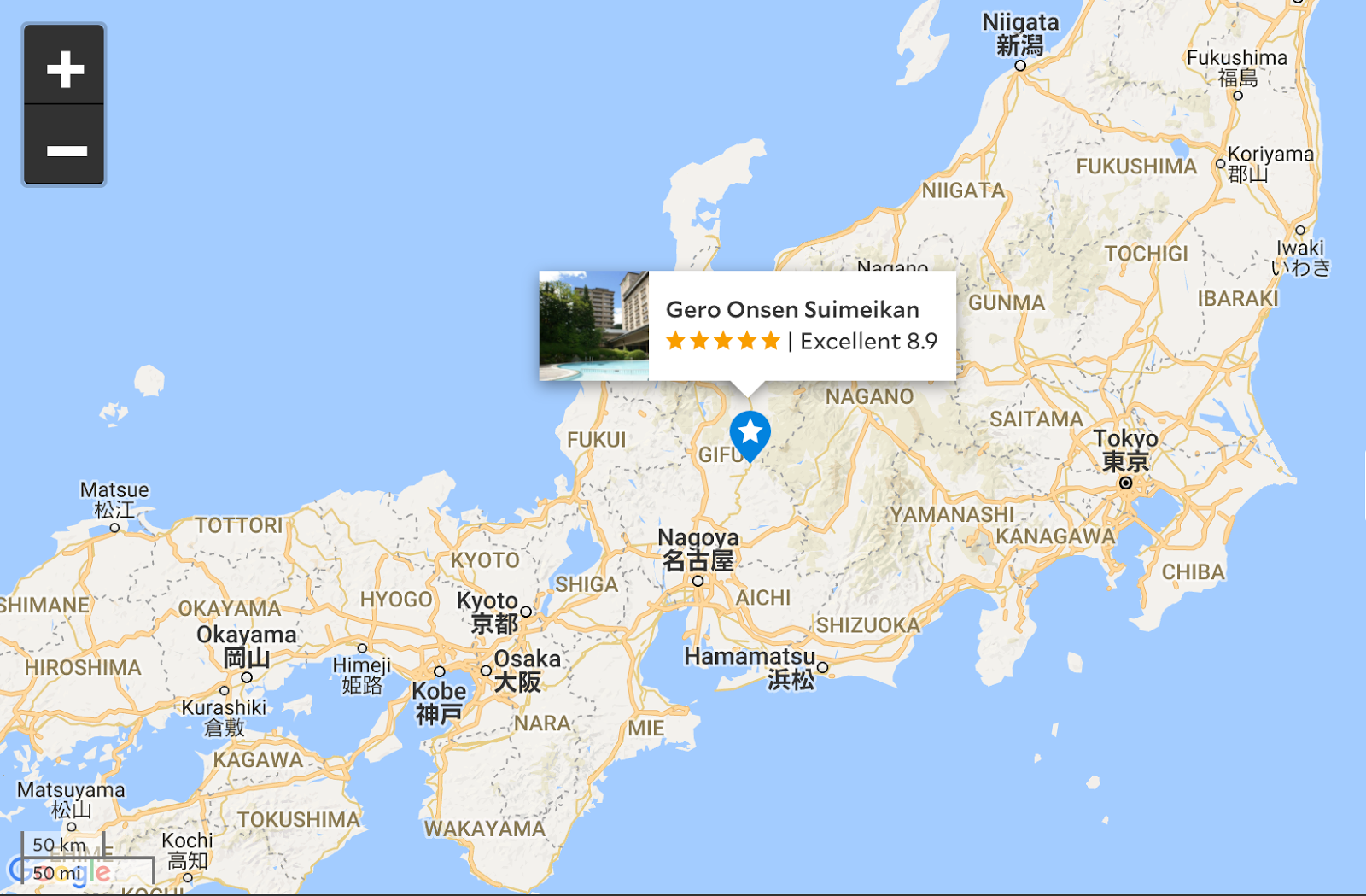 Traditional Lodging In Japan Top Japanese Ryokan Hotels Chosen - Japan map yamanashi