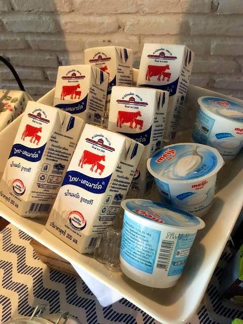 Thailand milk