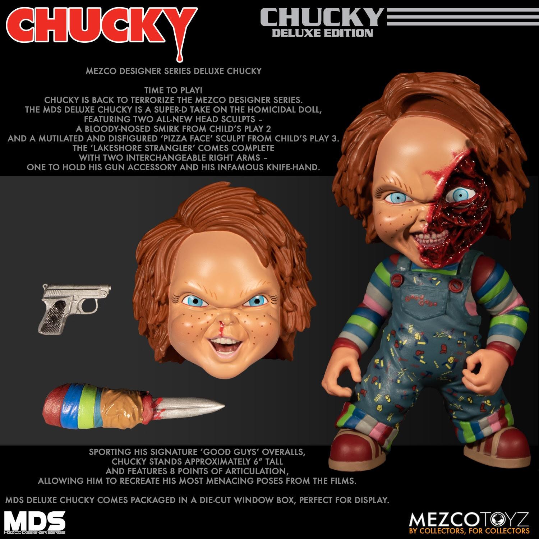 Collecting Toyz Mezco Designer Series Deluxe Chucky