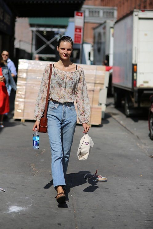 Tilda Lindstam's Best Denim Street Style Looks
