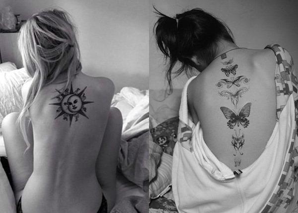 Die schönsten Rücken Tattoos Designs