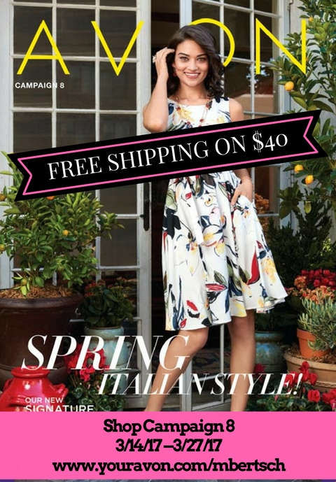 New Avon Catalog March 2017