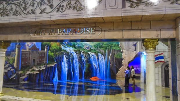 Interesting Corner Of Esplanade Shopping Mall Art In Paradise 3d
