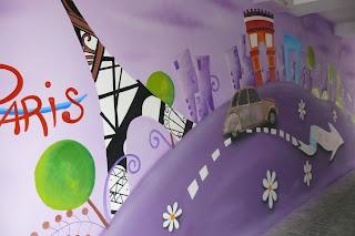 Malowanie obrazów na ścianie, artystyczne malowanie ścian, mural 3D