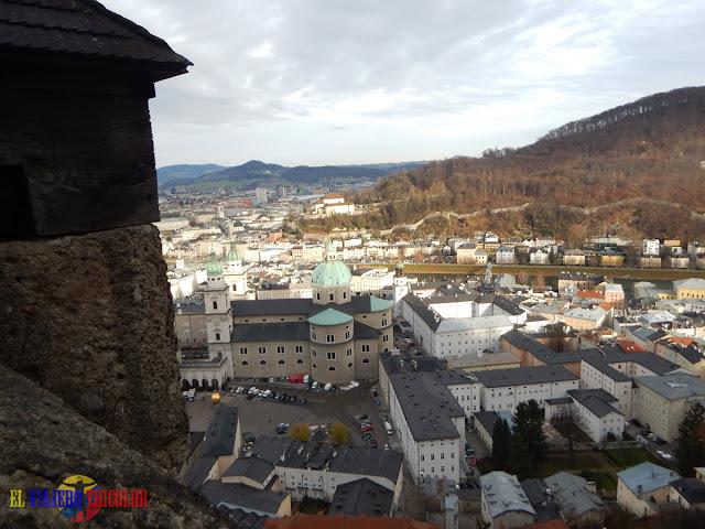 Vistas desde la fortaleza de Salzburgo