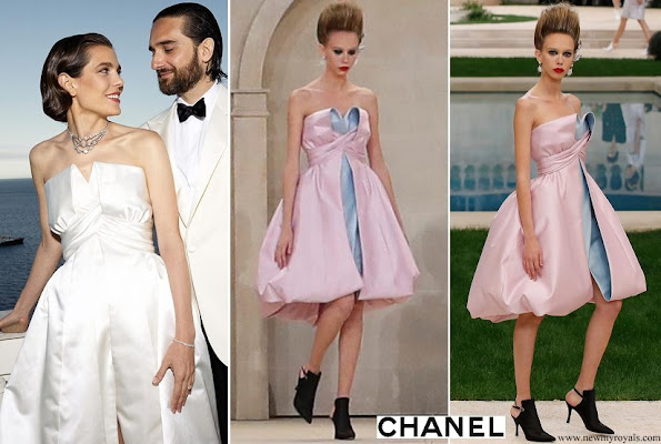 Charlotte Casiraghi wore Chanel gown from Haute Couture Spring Summer 2019