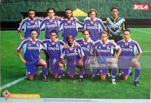 Poster Tim Fiorentina 2001
