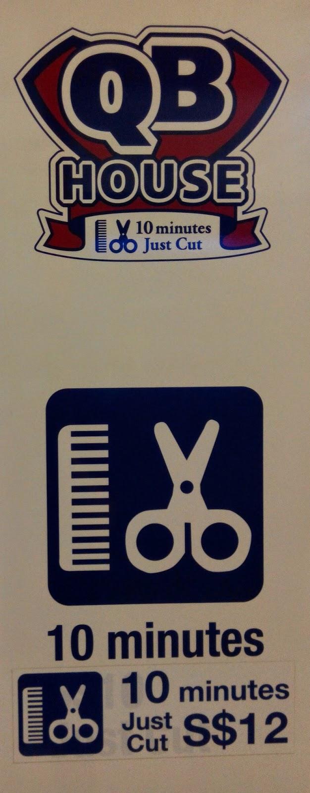 QB House barbershop, Singapore