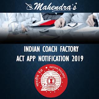 ICF   ACT APP NOTIFICATION 2019   992 VACANCIES