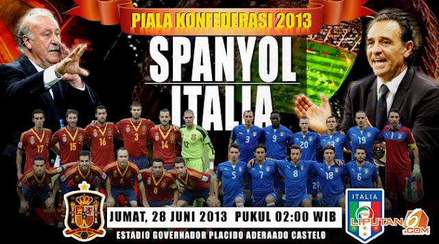 Prediksi Skor (Line-Up) Spanyol vs Italia Semifinal Piala ...