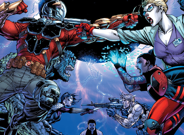 suicide squad deadshot harley quinn