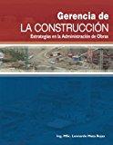 Libros de administración proyectos - Gerencia de la construcción