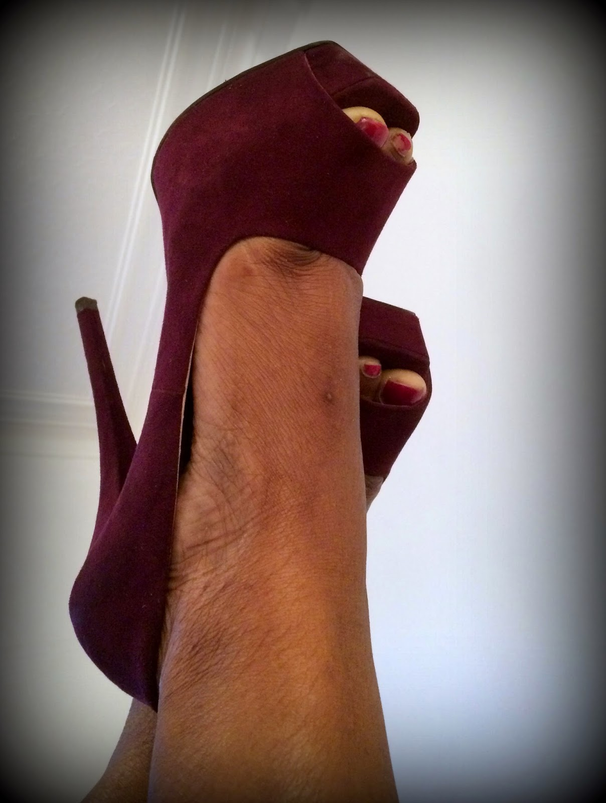 High heels, Burgundy High heels, Zara Shoes, Shoes for Underwear
