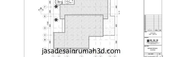 denah rumah ukuran 6x10m2 3 kamar 3